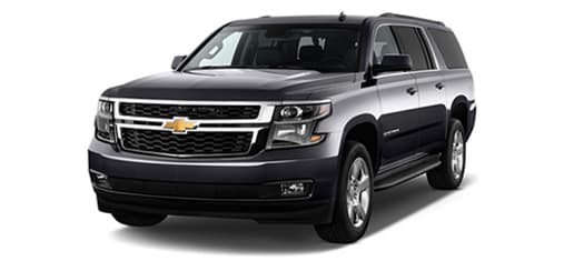 Full-Size SUV rates for Calgary Limo services