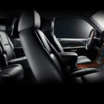 interior of Suv Suburban,