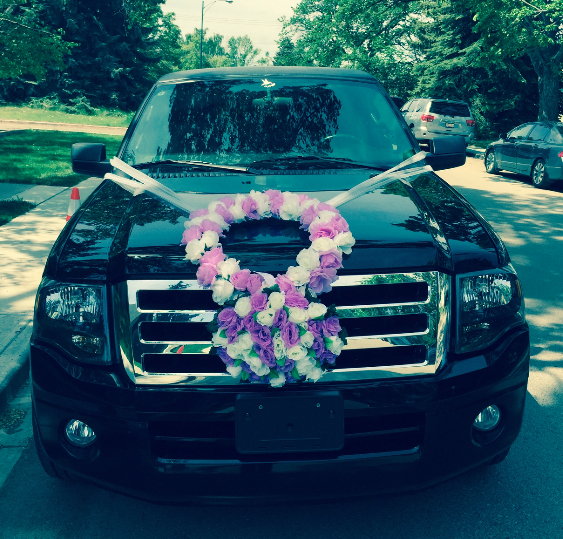 Our Wedding Limousine