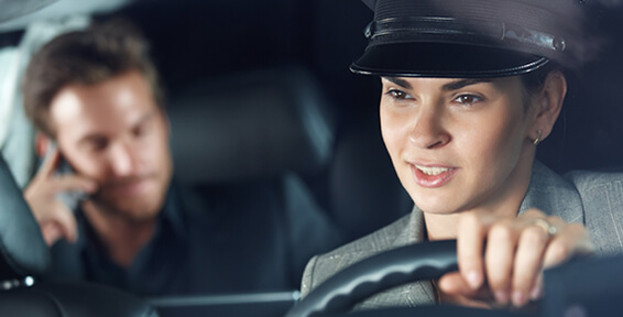 car service to calgary airport with a designated chauffeur