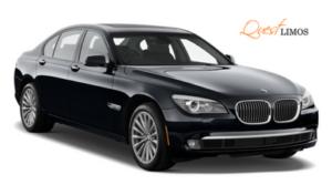 BMW 7 Series for Wedding Limo Rental
