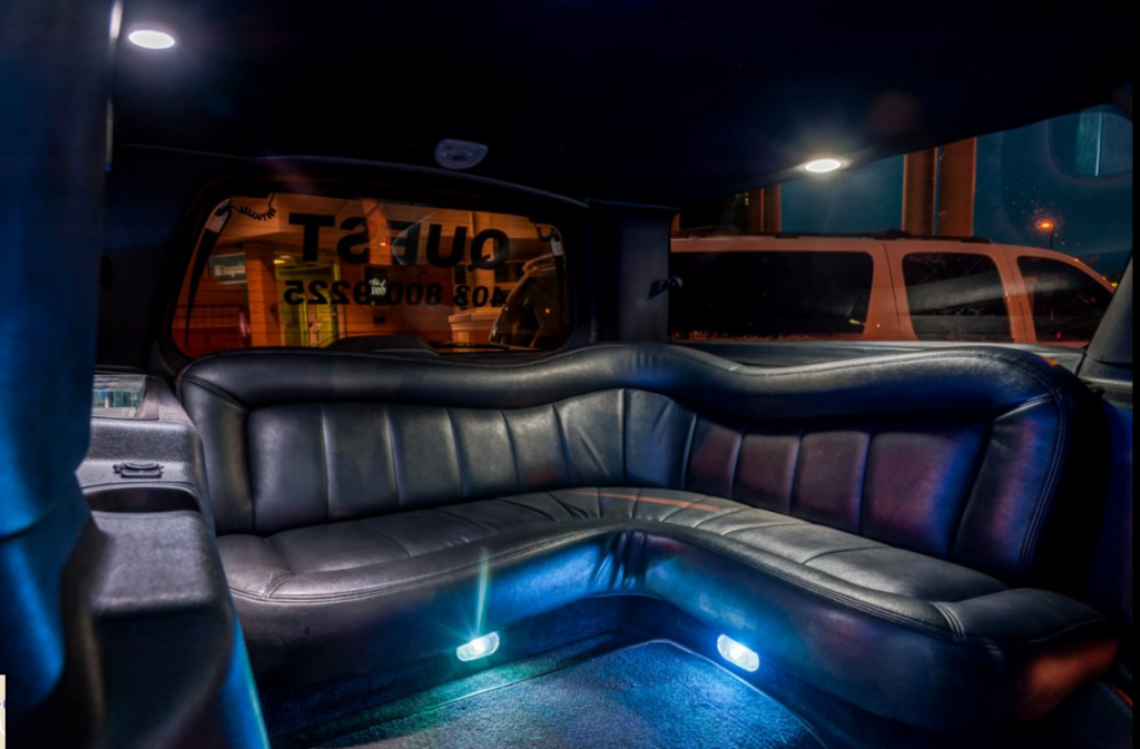 rear-seat-of-black-suv-stretch-limo