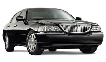 Black Lincoln Town Car Hourly Rates
